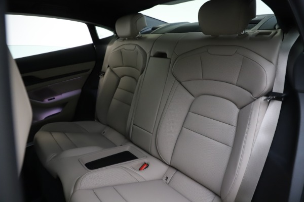 Used 2021 Porsche Taycan 4S for sale Sold at Rolls-Royce Motor Cars Greenwich in Greenwich CT 06830 18