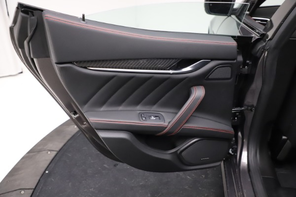 New 2021 Maserati Ghibli S Q4 GranSport for sale $100,635 at Rolls-Royce Motor Cars Greenwich in Greenwich CT 06830 21