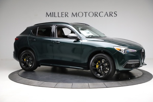 New 2021 Alfa Romeo Stelvio Ti Q4 for sale $53,650 at Rolls-Royce Motor Cars Greenwich in Greenwich CT 06830 10