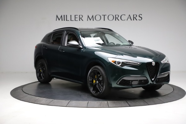 New 2021 Alfa Romeo Stelvio Ti Q4 for sale $53,650 at Rolls-Royce Motor Cars Greenwich in Greenwich CT 06830 11