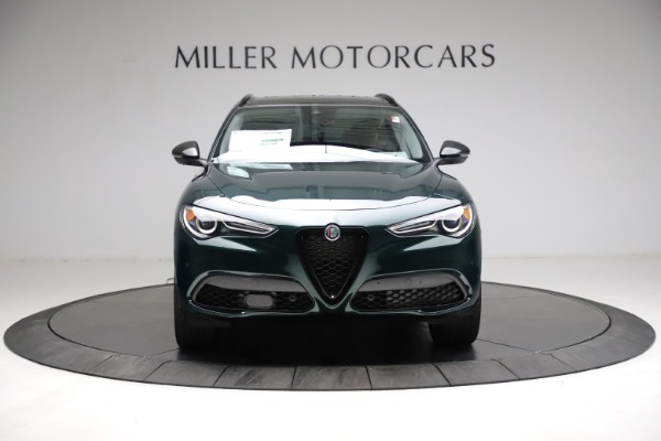 New 2021 Alfa Romeo Stelvio Ti Q4 for sale $53,650 at Rolls-Royce Motor Cars Greenwich in Greenwich CT 06830 12