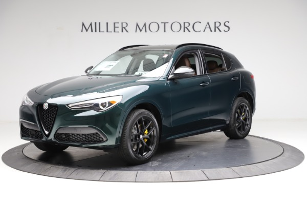 New 2021 Alfa Romeo Stelvio Ti Q4 for sale $53,650 at Rolls-Royce Motor Cars Greenwich in Greenwich CT 06830 2