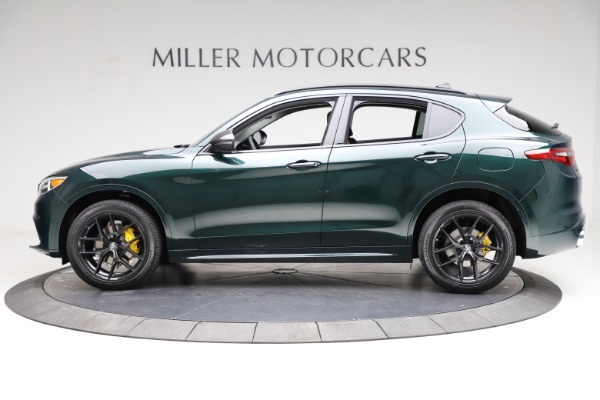 New 2021 Alfa Romeo Stelvio Ti Q4 for sale $53,650 at Rolls-Royce Motor Cars Greenwich in Greenwich CT 06830 3