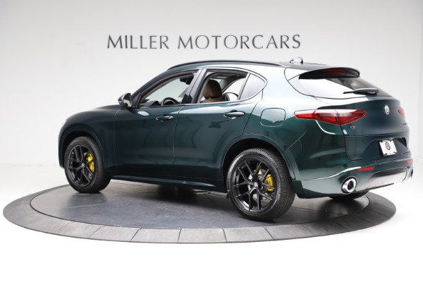New 2021 Alfa Romeo Stelvio Ti Q4 for sale $53,650 at Rolls-Royce Motor Cars Greenwich in Greenwich CT 06830 4