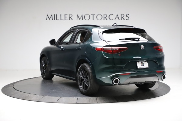 New 2021 Alfa Romeo Stelvio Ti Q4 for sale $53,650 at Rolls-Royce Motor Cars Greenwich in Greenwich CT 06830 5