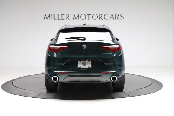 New 2021 Alfa Romeo Stelvio Ti Q4 for sale $53,650 at Rolls-Royce Motor Cars Greenwich in Greenwich CT 06830 6