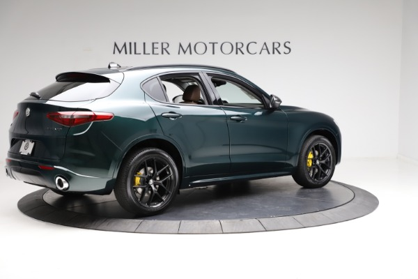 New 2021 Alfa Romeo Stelvio Ti Q4 for sale $53,650 at Rolls-Royce Motor Cars Greenwich in Greenwich CT 06830 8