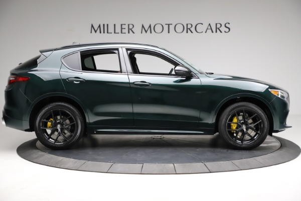 New 2021 Alfa Romeo Stelvio Ti Q4 for sale $53,650 at Rolls-Royce Motor Cars Greenwich in Greenwich CT 06830 9