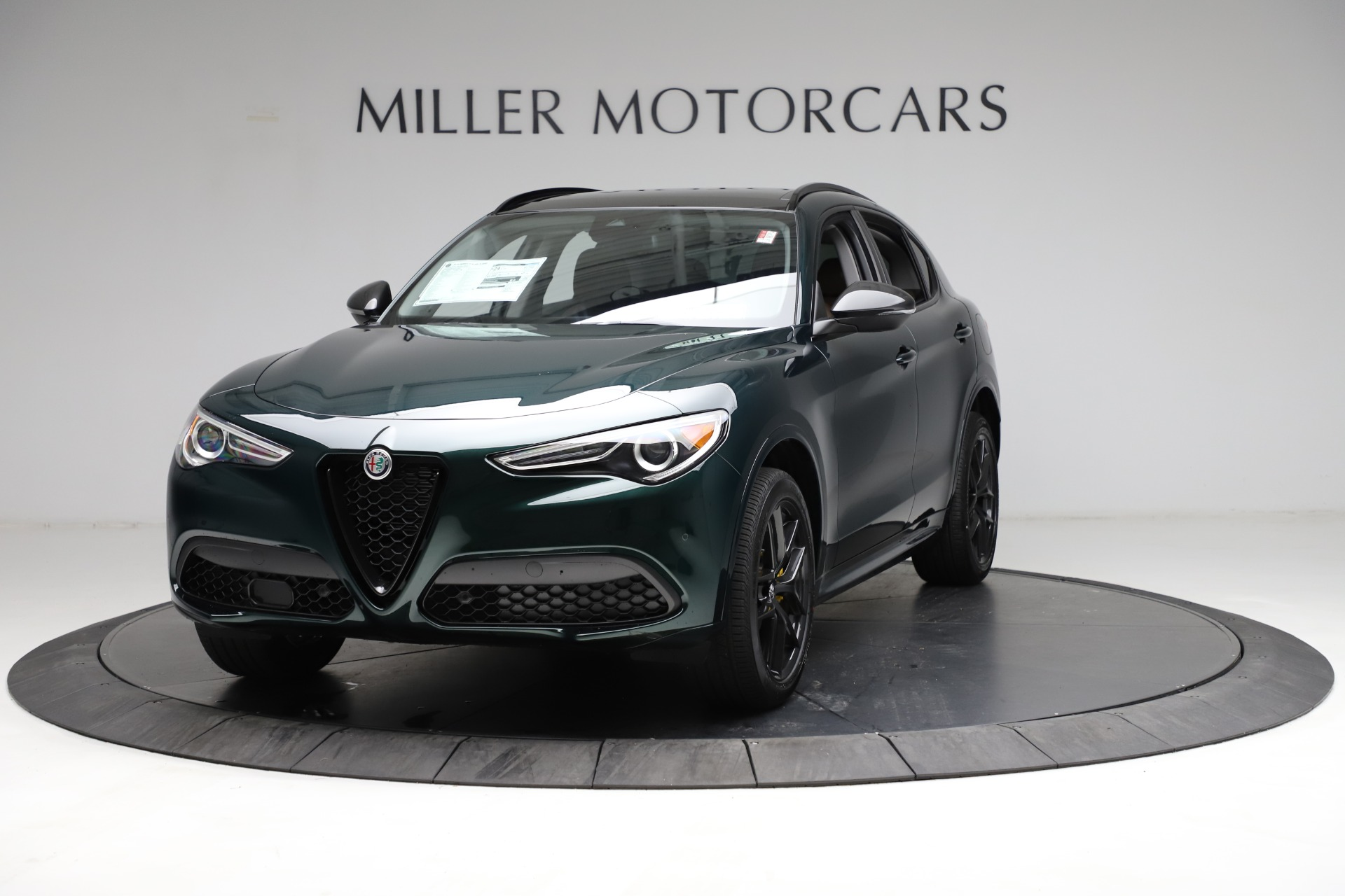 New 2021 Alfa Romeo Stelvio Ti Q4 for sale $53,650 at Rolls-Royce Motor Cars Greenwich in Greenwich CT 06830 1