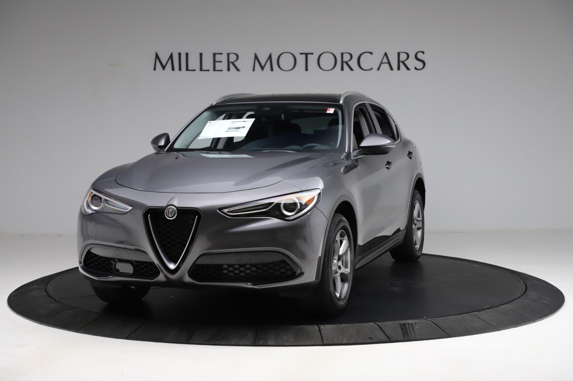 New 2021 Alfa Romeo Stelvio Q4 for sale $48,900 at Rolls-Royce Motor Cars Greenwich in Greenwich CT 06830 1