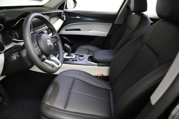 New 2021 Alfa Romeo Stelvio Q4 for sale $50,245 at Rolls-Royce Motor Cars Greenwich in Greenwich CT 06830 14