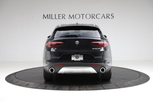 New 2021 Alfa Romeo Stelvio Q4 for sale $50,245 at Rolls-Royce Motor Cars Greenwich in Greenwich CT 06830 6