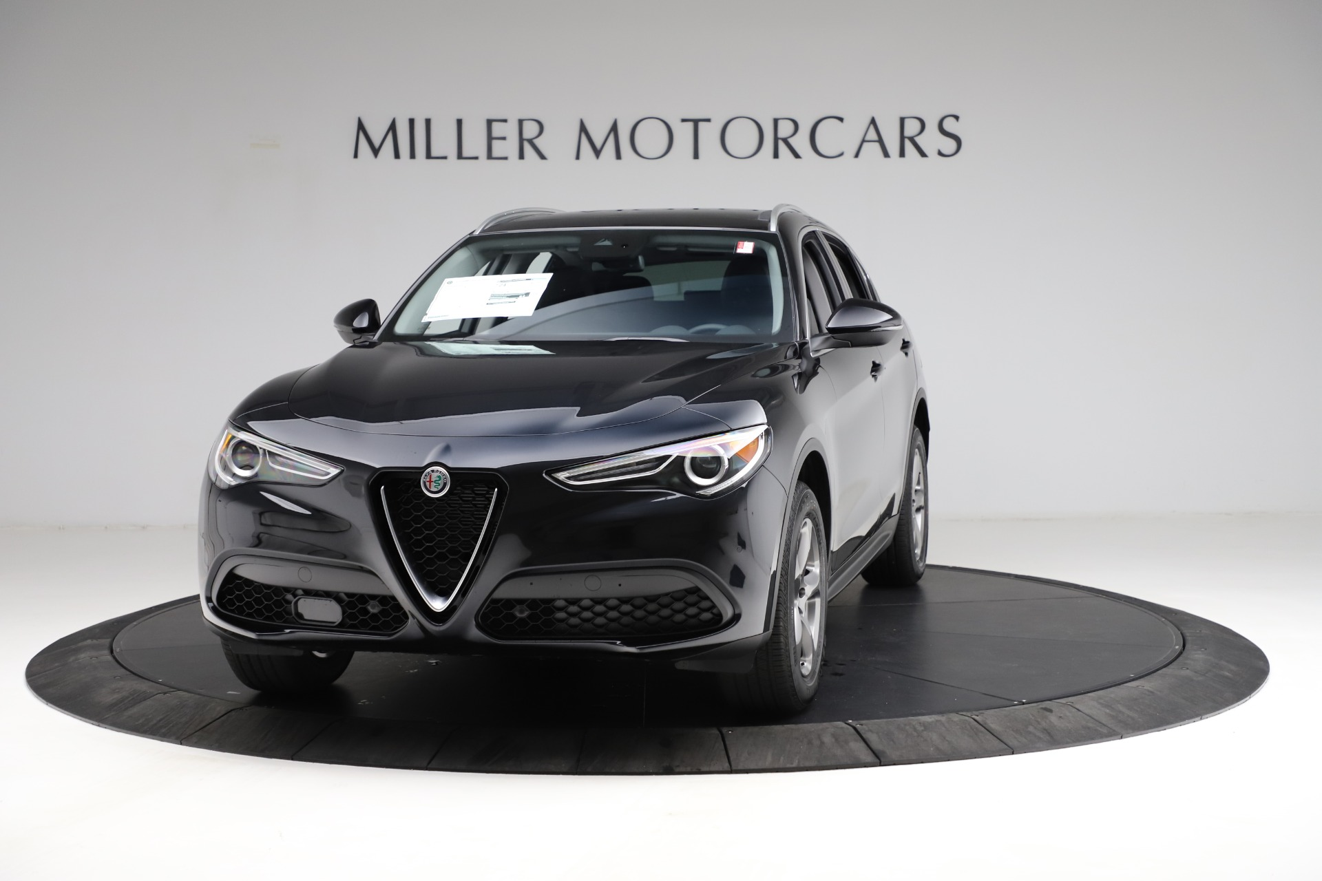New 2021 Alfa Romeo Stelvio Q4 for sale $50,245 at Rolls-Royce Motor Cars Greenwich in Greenwich CT 06830 1