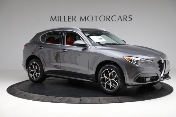 New 2021 Alfa Romeo Stelvio Ti Q4 for sale $55,500 at Rolls-Royce Motor Cars Greenwich in Greenwich CT 06830 11