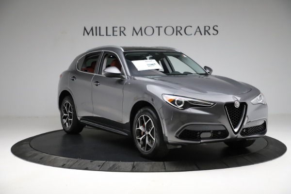 New 2021 Alfa Romeo Stelvio Ti Q4 for sale $55,500 at Rolls-Royce Motor Cars Greenwich in Greenwich CT 06830 12