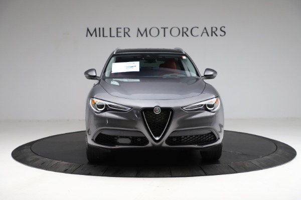 New 2021 Alfa Romeo Stelvio Ti Q4 for sale $55,500 at Rolls-Royce Motor Cars Greenwich in Greenwich CT 06830 13