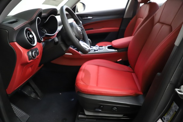 New 2021 Alfa Romeo Stelvio Ti Q4 for sale $55,500 at Rolls-Royce Motor Cars Greenwich in Greenwich CT 06830 16