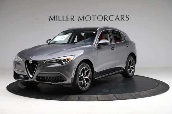 New 2021 Alfa Romeo Stelvio Ti Q4 for sale $55,500 at Rolls-Royce Motor Cars Greenwich in Greenwich CT 06830 2