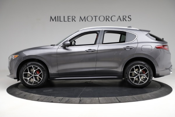 New 2021 Alfa Romeo Stelvio Ti Q4 for sale $55,500 at Rolls-Royce Motor Cars Greenwich in Greenwich CT 06830 3