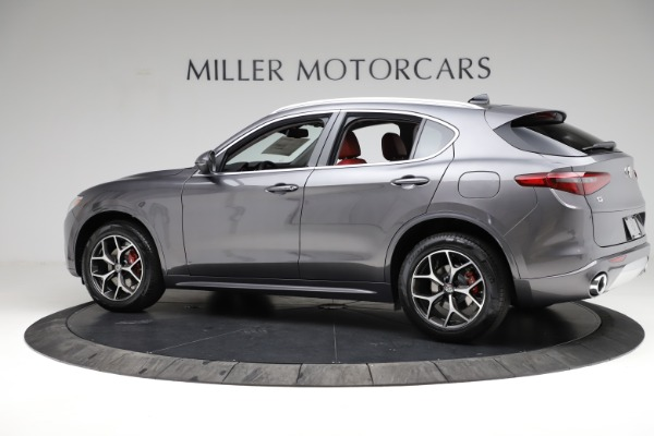 New 2021 Alfa Romeo Stelvio Ti Q4 for sale $55,500 at Rolls-Royce Motor Cars Greenwich in Greenwich CT 06830 4