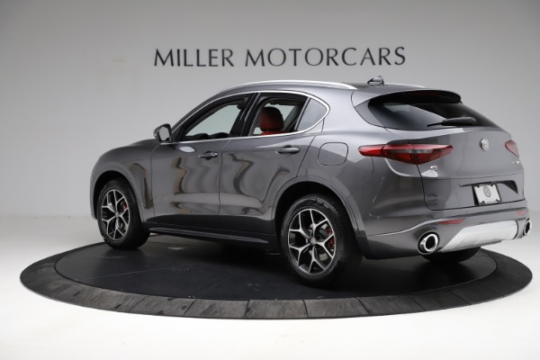 New 2021 Alfa Romeo Stelvio Ti Q4 for sale $55,500 at Rolls-Royce Motor Cars Greenwich in Greenwich CT 06830 5