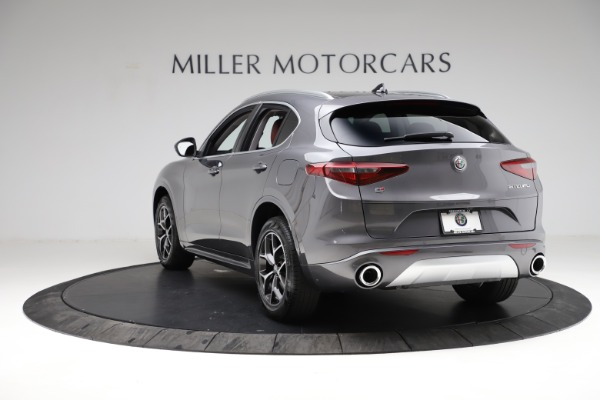 New 2021 Alfa Romeo Stelvio Ti Q4 for sale $55,500 at Rolls-Royce Motor Cars Greenwich in Greenwich CT 06830 6