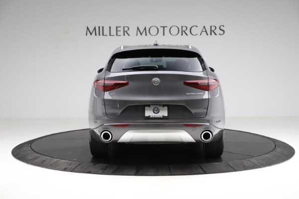 New 2021 Alfa Romeo Stelvio Ti Q4 for sale $55,500 at Rolls-Royce Motor Cars Greenwich in Greenwich CT 06830 7
