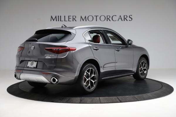 New 2021 Alfa Romeo Stelvio Ti Q4 for sale $55,500 at Rolls-Royce Motor Cars Greenwich in Greenwich CT 06830 9