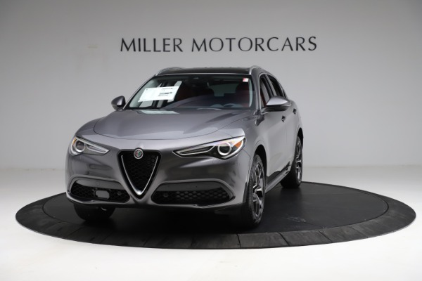 New 2021 Alfa Romeo Stelvio Ti Q4 for sale $55,500 at Rolls-Royce Motor Cars Greenwich in Greenwich CT 06830 1