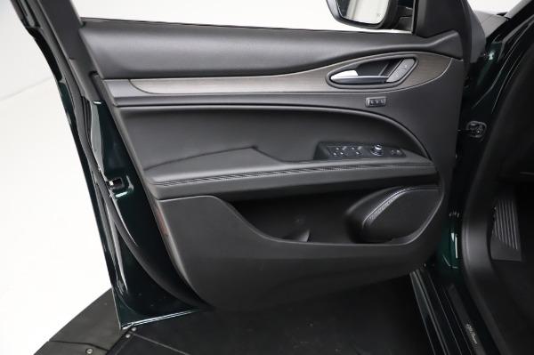 New 2021 Alfa Romeo Stelvio Ti Q4 for sale Sold at Rolls-Royce Motor Cars Greenwich in Greenwich CT 06830 19