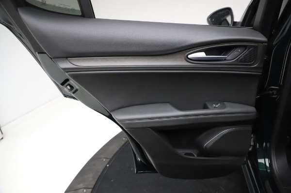 New 2021 Alfa Romeo Stelvio Ti Q4 for sale Sold at Rolls-Royce Motor Cars Greenwich in Greenwich CT 06830 23