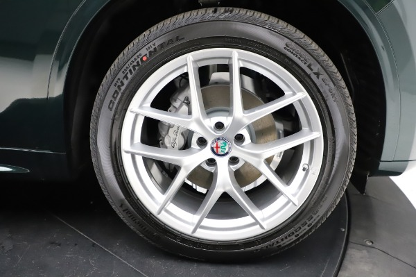 New 2021 Alfa Romeo Stelvio Ti Q4 for sale Sold at Rolls-Royce Motor Cars Greenwich in Greenwich CT 06830 26