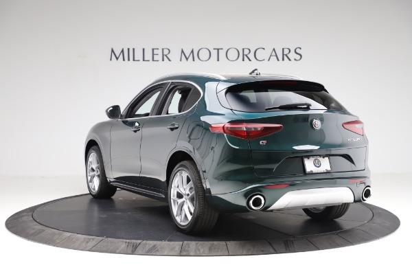 New 2021 Alfa Romeo Stelvio Ti Q4 for sale Sold at Rolls-Royce Motor Cars Greenwich in Greenwich CT 06830 5