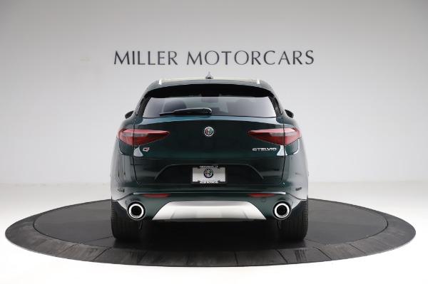 New 2021 Alfa Romeo Stelvio Ti Q4 for sale Sold at Rolls-Royce Motor Cars Greenwich in Greenwich CT 06830 6