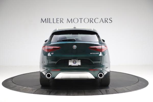 New 2021 Alfa Romeo Stelvio Ti Q4 for sale Sold at Rolls-Royce Motor Cars Greenwich in Greenwich CT 06830 7