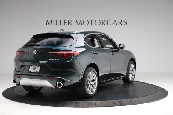 New 2021 Alfa Romeo Stelvio Ti Q4 for sale Sold at Rolls-Royce Motor Cars Greenwich in Greenwich CT 06830 8