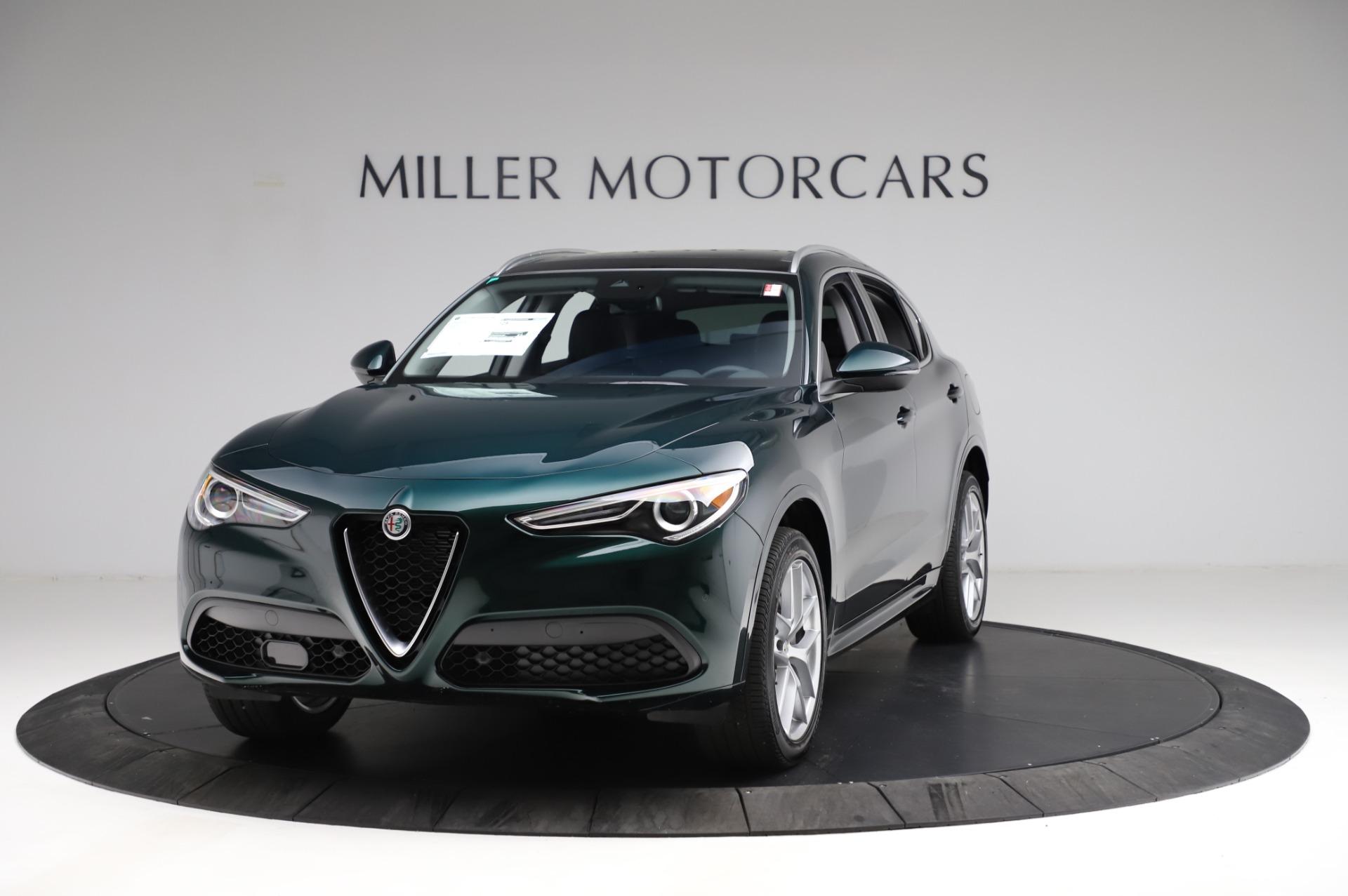 New 2021 Alfa Romeo Stelvio Ti Q4 for sale $53,500 at Rolls-Royce Motor Cars Greenwich in Greenwich CT 06830 1