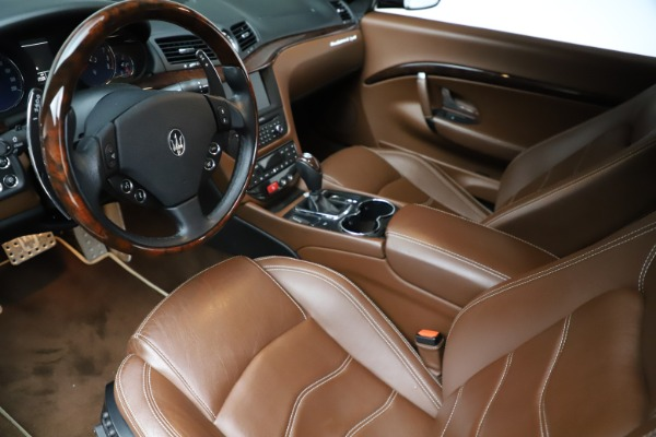 Used 2013 Maserati GranTurismo Sport for sale Call for price at Rolls-Royce Motor Cars Greenwich in Greenwich CT 06830 14