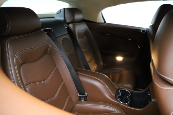 Used 2013 Maserati GranTurismo Sport for sale Call for price at Rolls-Royce Motor Cars Greenwich in Greenwich CT 06830 17