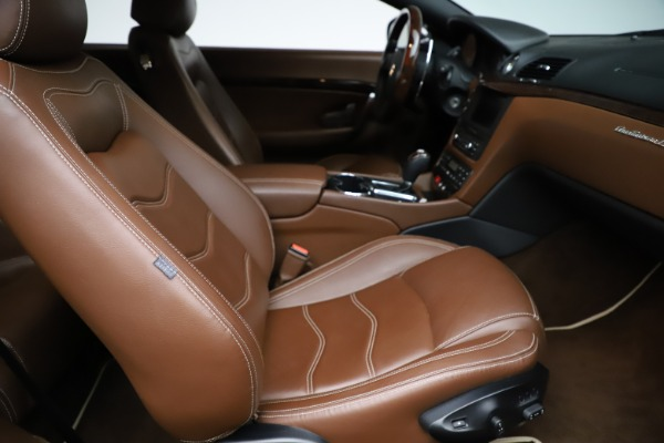 Used 2013 Maserati GranTurismo Sport for sale Call for price at Rolls-Royce Motor Cars Greenwich in Greenwich CT 06830 19
