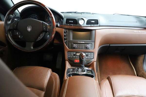 Used 2013 Maserati GranTurismo Sport for sale Call for price at Rolls-Royce Motor Cars Greenwich in Greenwich CT 06830 21