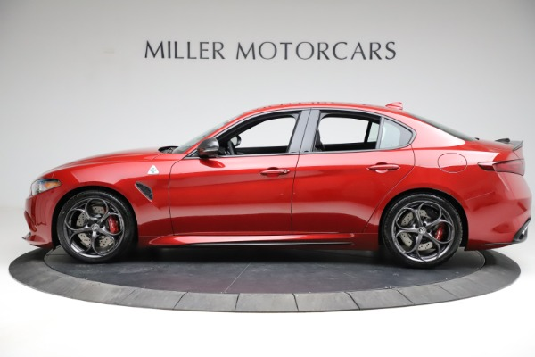 New 2021 Alfa Romeo Giulia Quadrifoglio for sale $83,740 at Rolls-Royce Motor Cars Greenwich in Greenwich CT 06830 2