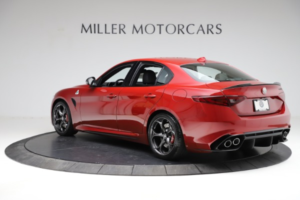 New 2021 Alfa Romeo Giulia Quadrifoglio for sale $83,740 at Rolls-Royce Motor Cars Greenwich in Greenwich CT 06830 3