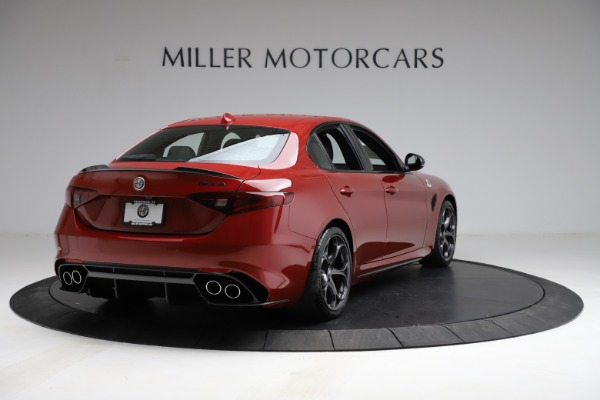 New 2021 Alfa Romeo Giulia Quadrifoglio for sale $83,740 at Rolls-Royce Motor Cars Greenwich in Greenwich CT 06830 5