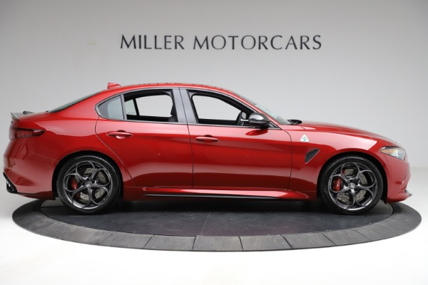 New 2021 Alfa Romeo Giulia Quadrifoglio for sale $83,740 at Rolls-Royce Motor Cars Greenwich in Greenwich CT 06830 7