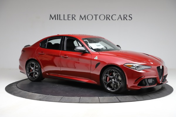 New 2021 Alfa Romeo Giulia Quadrifoglio for sale $83,740 at Rolls-Royce Motor Cars Greenwich in Greenwich CT 06830 8