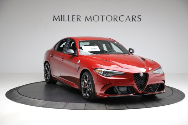 New 2021 Alfa Romeo Giulia Quadrifoglio for sale $83,740 at Rolls-Royce Motor Cars Greenwich in Greenwich CT 06830 9