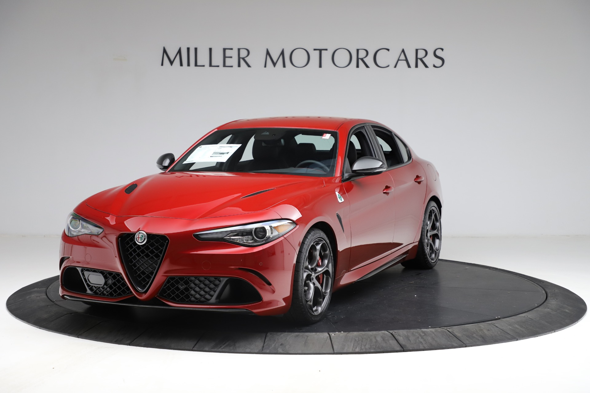 New 2021 Alfa Romeo Giulia Quadrifoglio for sale $83,740 at Rolls-Royce Motor Cars Greenwich in Greenwich CT 06830 1