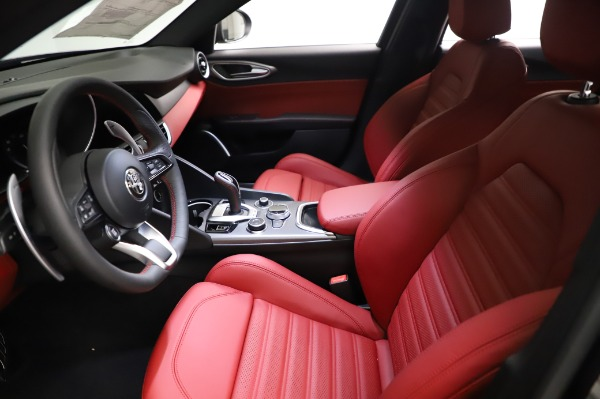 New 2021 Alfa Romeo Giulia Ti Sport for sale $54,050 at Rolls-Royce Motor Cars Greenwich in Greenwich CT 06830 13