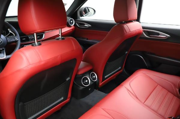 New 2021 Alfa Romeo Giulia Ti Sport for sale $54,050 at Rolls-Royce Motor Cars Greenwich in Greenwich CT 06830 17